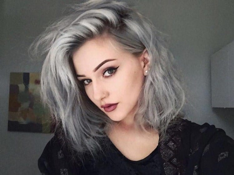 coloring your gray hair using products