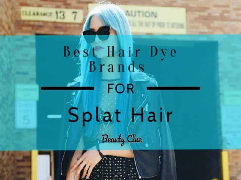 best splat hair dye colors and brands