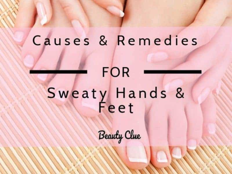 cure for sweaty hands and feet