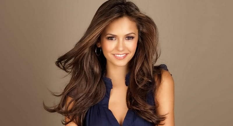 hair color for warm skin tones with brown eyes