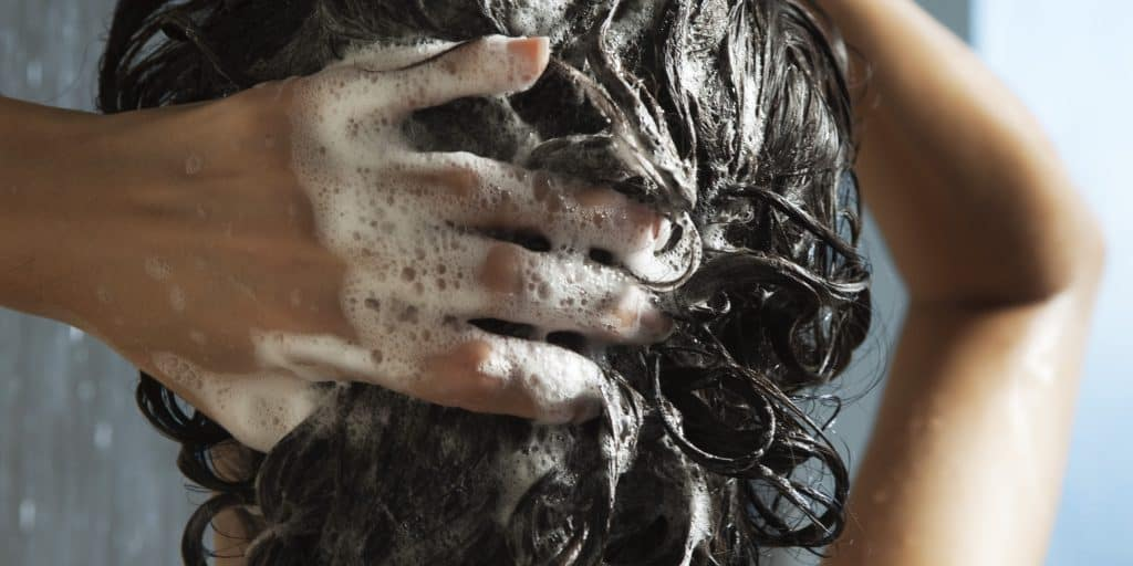 washing hair too often