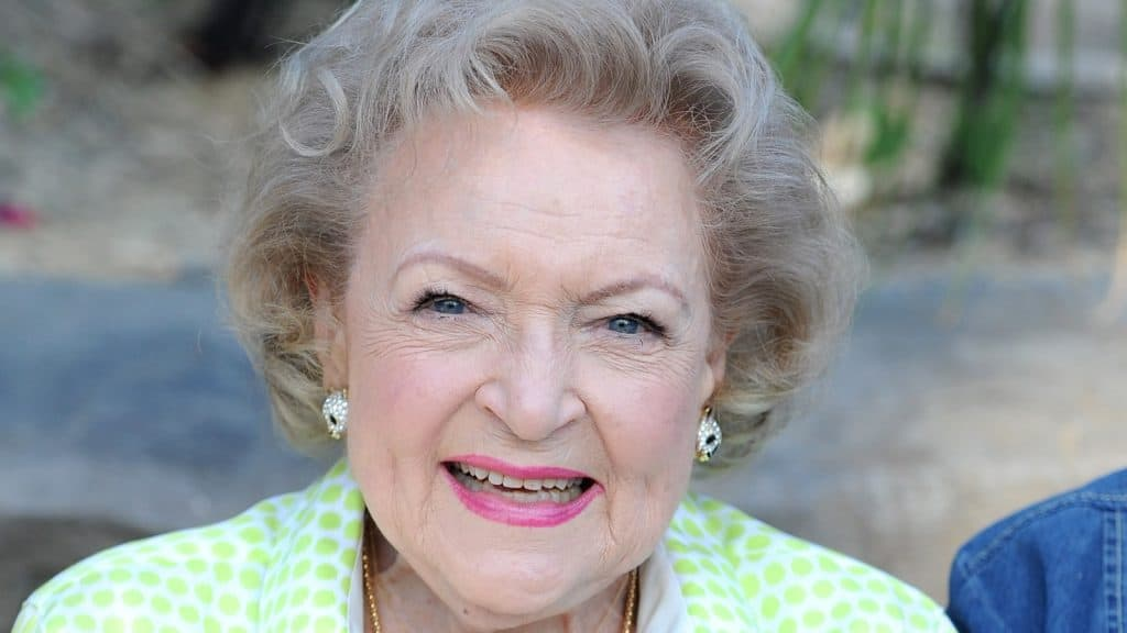 betty white skincare product
