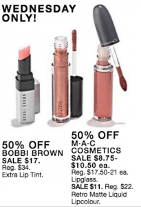 lipsticks on sale