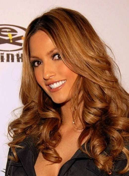 Best Hair Color For Olive Skin Tone Dark Brown Eyes Brunette Red