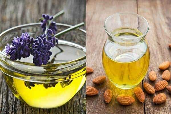 Mixture of Almond and Lavender Oils