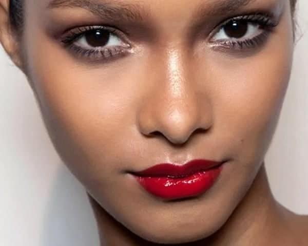 red Lipstick for Brown Skin