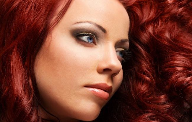red hair color for fair skin