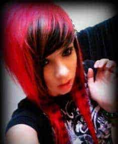 Splat Red Hair Color