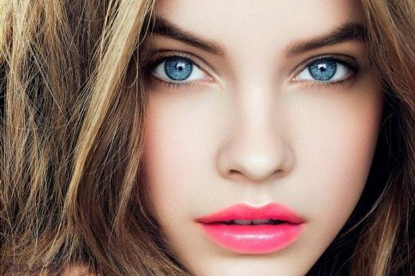 hair color for fair skin with blue eyes
