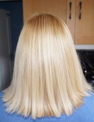box blonde hair dye idea for women