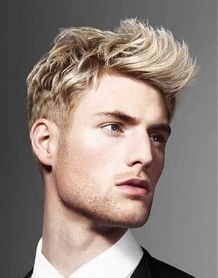 temporary blonde hair color for men