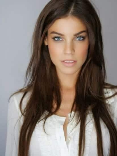 natural brown hair color for girls
