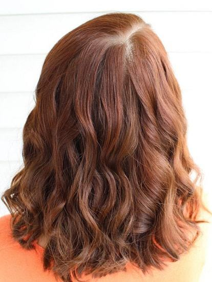 dark brown henna hair color ideas