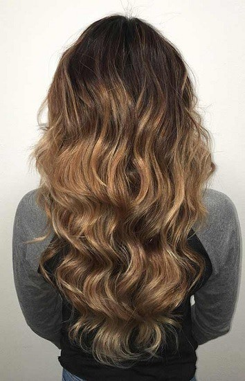 Golden Brown Hair Dye for Dark Hair