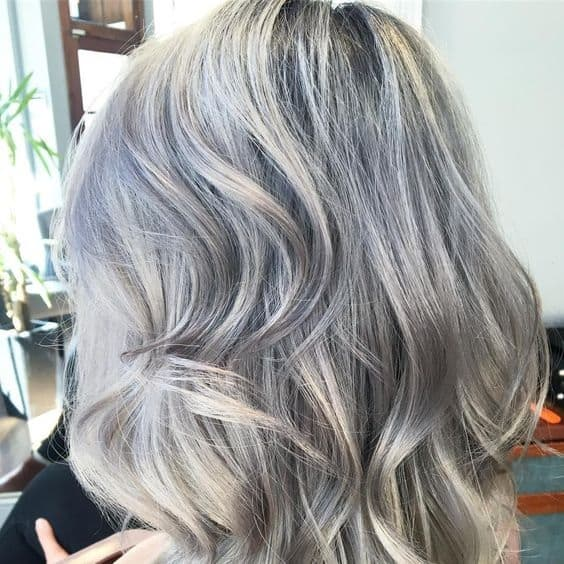Gray Hair styles and Haircuts with lowlights