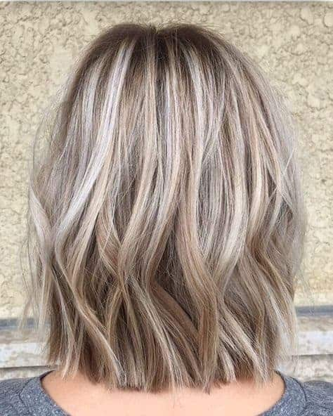 highlighting ideas for gray hair for women