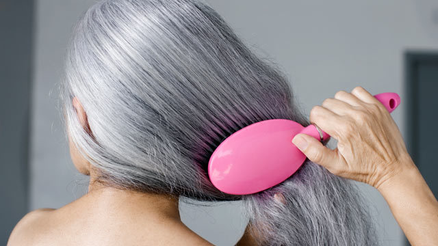 How to prevent gray hair including natural and use of vitamins diet - Ways prevent grey hair ...