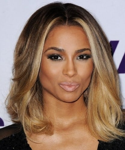 light blonde hair color for brown skin tone