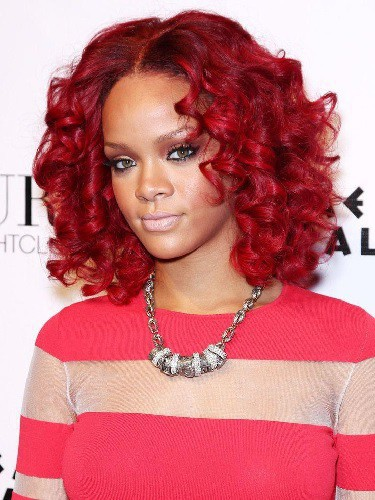 Red Hair Color for Dark Skin Tones