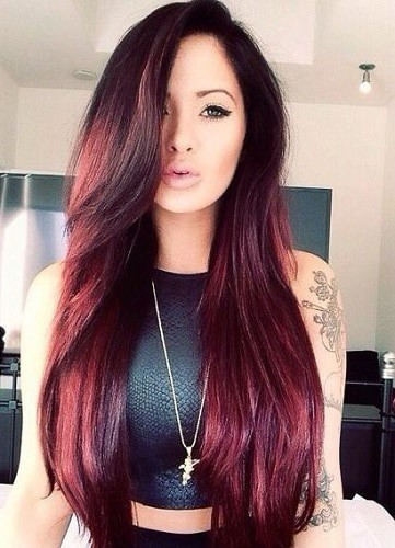 red hair color shades for cool skin tones
