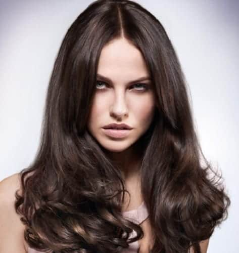 brown hair shades for girls with cool skin tone