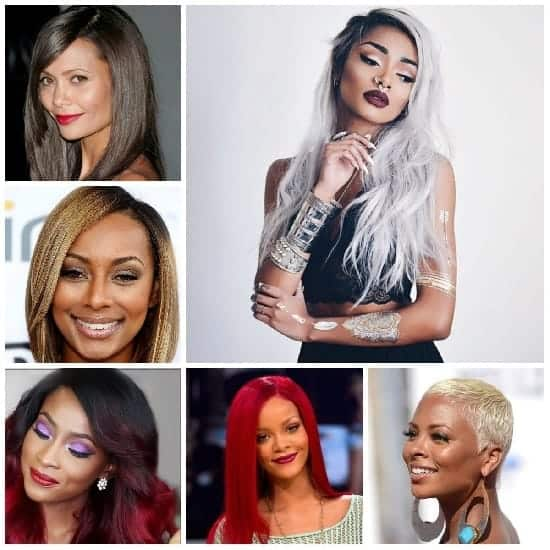 hair color for women with dark tone
