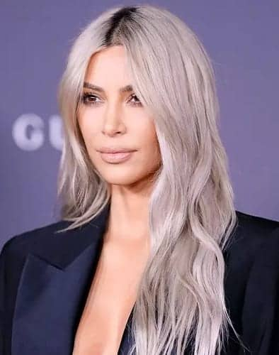 hair color for celebrity with dark tone