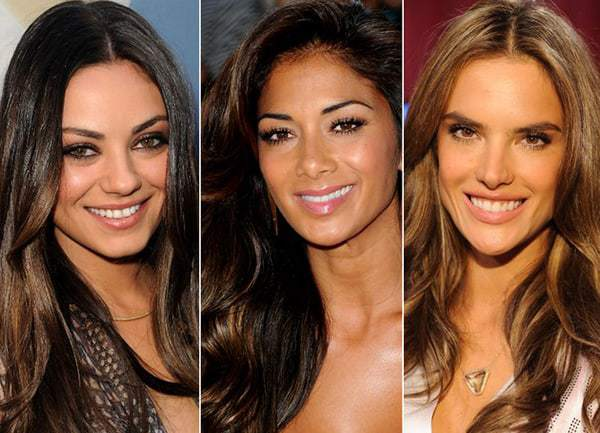 Best Hair Color for Olive Skin Tone, Dark Brown Eyes, Brunette, Red