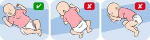 Safe and Funny Baby sleeping positions