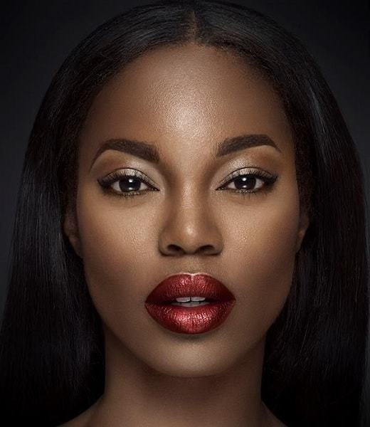 red lipstick for dark skin