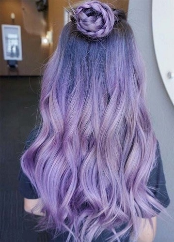 Lusty Lavender Splat Hair Dye