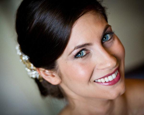 Wedding Makeup Blue Eyes Dark Hair - Life Style By Modernstork.com