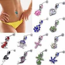 Inverse Belly Button Piercing Jewlery