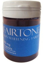 Natural skin lightening supplement