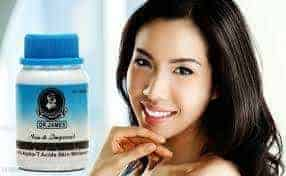Dr James Glutathione whitening pills