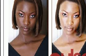 Glutathione before and after picture
