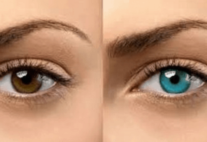 how to change your eye color