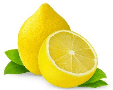how to use lemon to lighten eyebrows