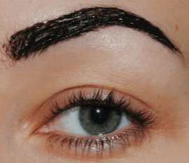 How to dye eyebrows black