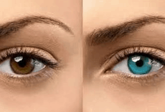 How to lighten eye color permanently