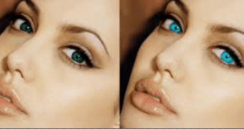 How to lighten eye color permanent