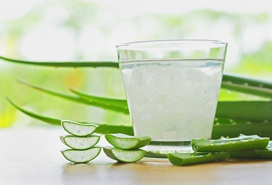 aloe vera for white spots on skin