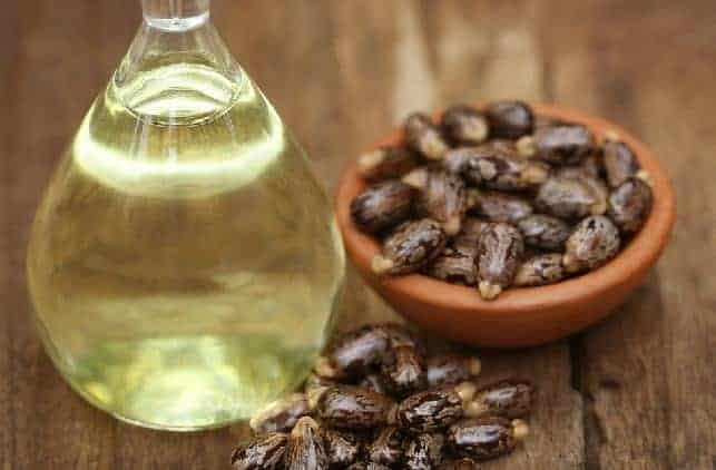 castor oil for white spots under eye