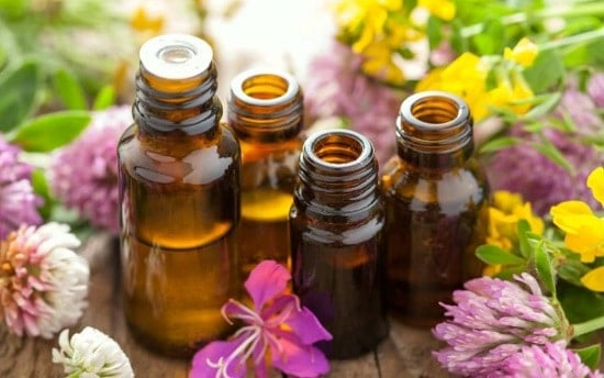 essential oils to cure white spots on skin