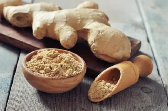 Ginger to remove white spots on skin