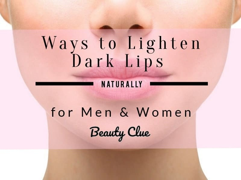 How To Get Pink Lips Lighten African Americans Fast