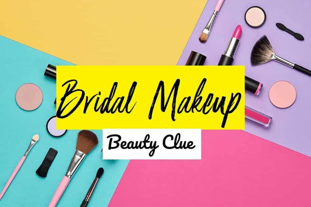 bridal makeup advice